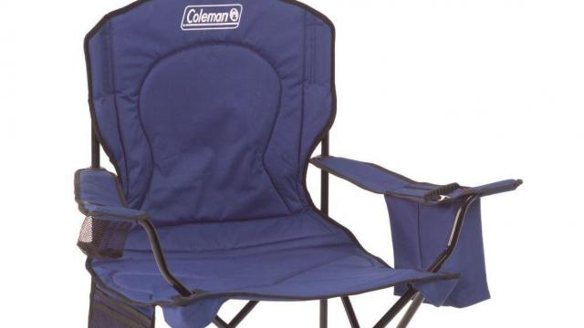 coleman rocking chair posture seat for babies oversized quad with cooler only 18 95 wral com