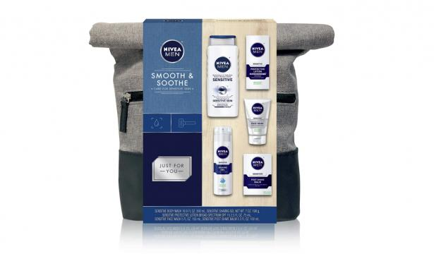 NIVEA Men Dapper Duffel Gift Set (Photo provided by Amazon)