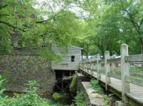 West Point Mill at Eno River State Park.