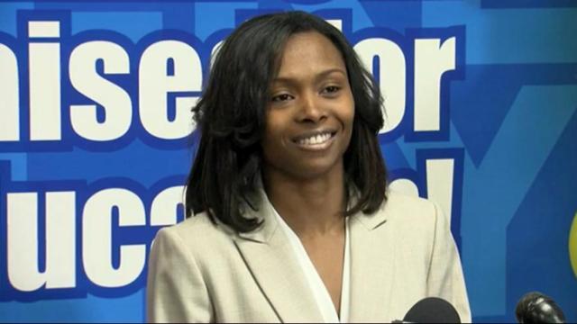 Lottery winner Marie Holmes
