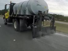 Crews prep roads in Fayetteville ahead of winter storm