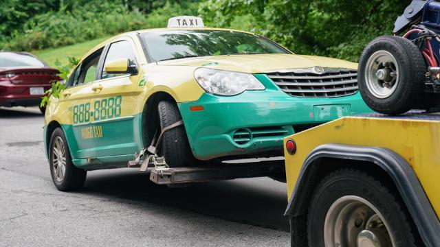 Elhadji Mansour Seck taxi