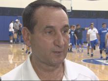 06/01: Krzyzewski talks health and basketball