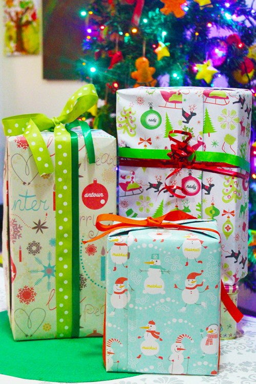 Personalized Christmas Wrapping Paper Free Printables