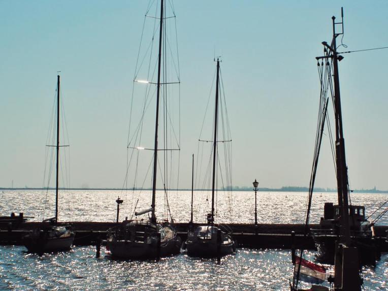 Portul din Volendam (poza facuta in 2007)