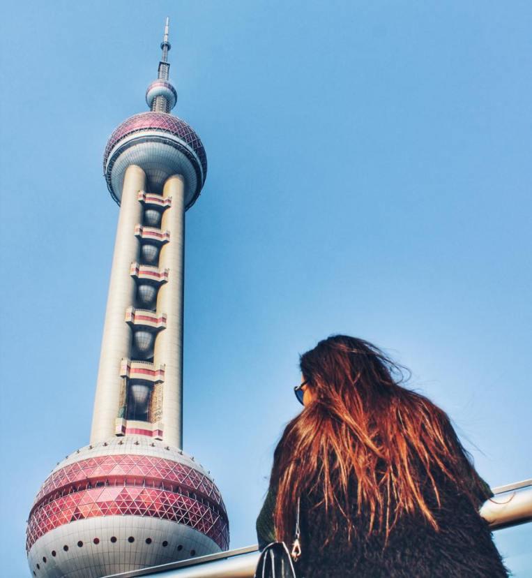 Turnul Televiziunii (468m) - Oriental Pearl TV Tower