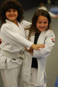 Proud students at Boston Judo Club