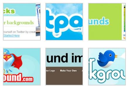 Sitios web para encontrar fondos para Twitter