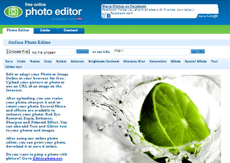 free online photo editor