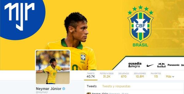 cuenta neymar jr twitter