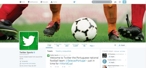 medios twitter sports