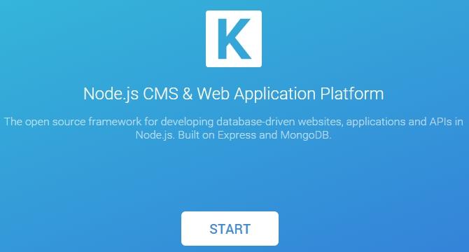 KeystoneJS: CMS De Node.js Y Plataforma Para Applicaciones Web