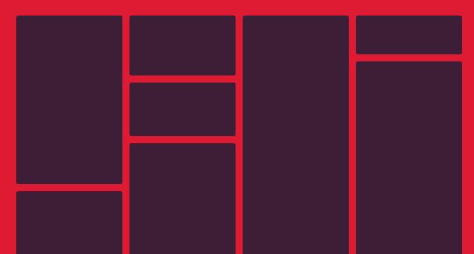 Bricks.js: Libreria Para Generar Plantillas Masonry En JS