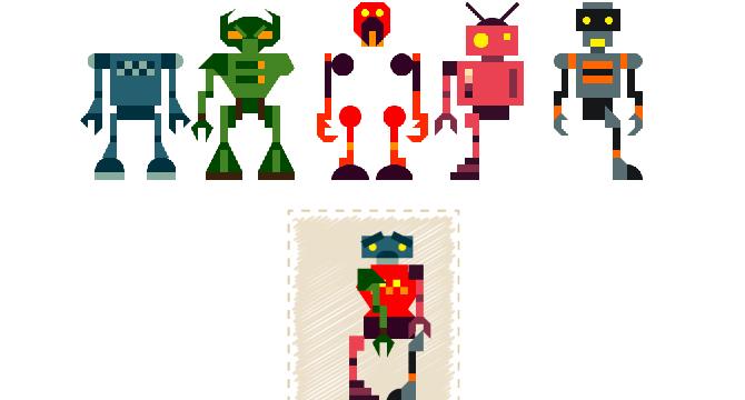 Build a Bot: Funcion Click-n-Drop Para Armar Robots