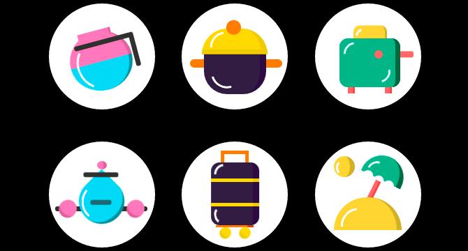 Funny Icons: Iconos En Puro CSS Animados