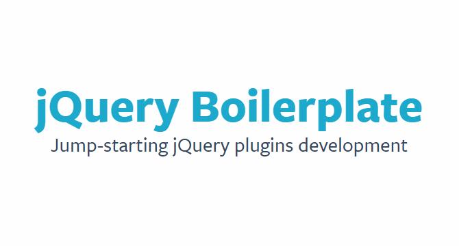 jQuery Boilerplate: Desarrollo De Plugins Para jQuery