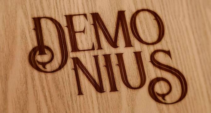 demonius-regular-fuente-gotica-retro-