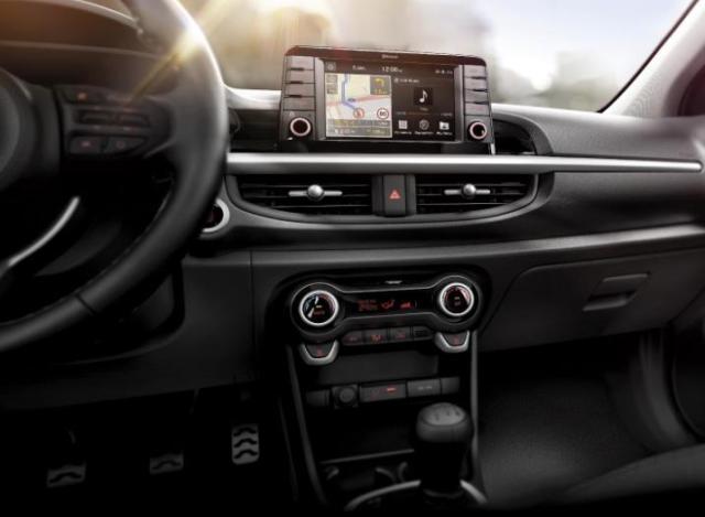 Imagen interna del nuevo Kia Picanto