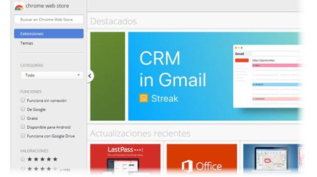 Chrome web-site store