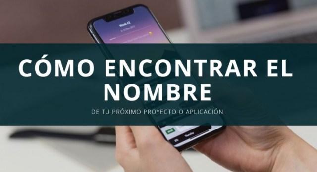 nombre app