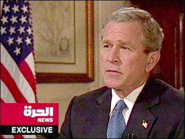 Bush numa Televis?o ?rabe?!? Nao podia ser!!