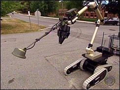 The Warrior Robot