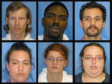 The 6 cowardly killers of Jeniffer Daugherty...Let's give them all the Death Penalty!!!!