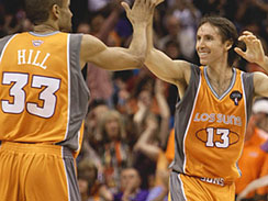 Suns guard Steve Nash on the _Los Suns_ uniforms: _I think it's fantastic._