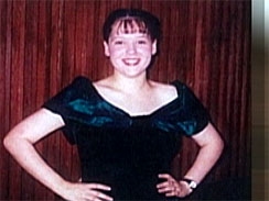 Tina Anderson as a teen. She alleges she was raped and impregnated  by a New Hampshire church deacon in 1997, then the church covered up the  crime.