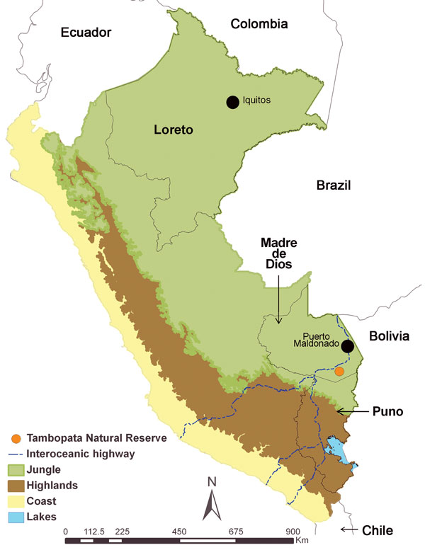 Climate Signals Maps From Fires and Floods Peru Sept