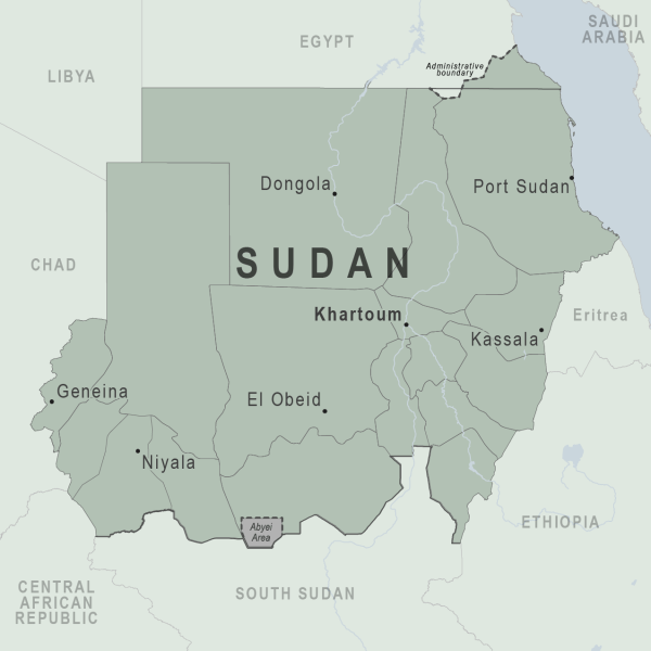 Health Information for Travelers to Sudan Traveler view