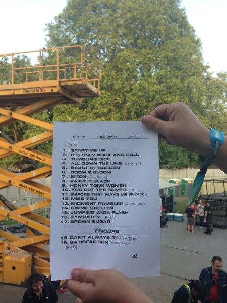 Seeing the Rolling Stones - Pleased to Meet You... - Setlist