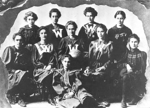 UW women's basketball team, 1897