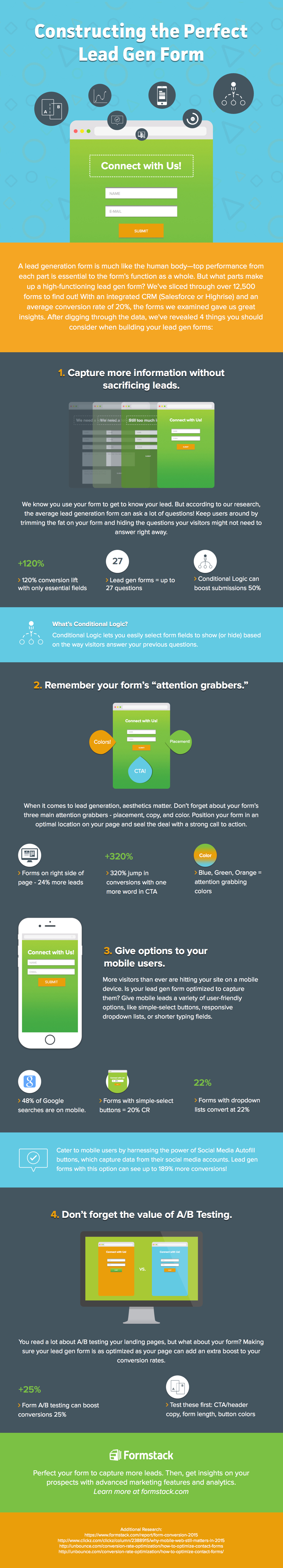 Constructing the Perfect Lead Gen Form