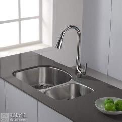Kraus Kitchen Faucet Sink Sprayer 克劳思kpf 1621ch 厨房抽拉水槽龙头优惠码折后 499秒杀 家居装修