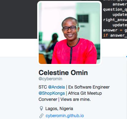 Image result for Celestine Omin