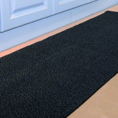 Kitchen Sink Rugs Stainless Steel Trash Can 谁说厨房不需要地毯 厨房地毯用途可大了 厨房水槽地毯