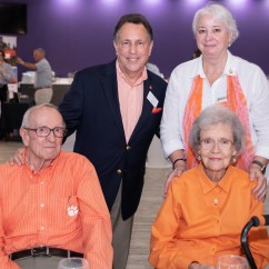 Mccabe Camping Chairs Exercise Ball Chair Base Gift Announced At First Tiger Band Reunion Clemson Jim And Barbara