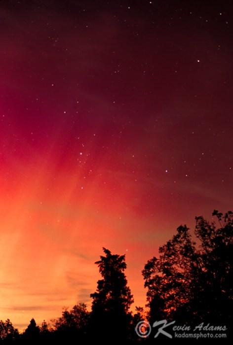Aurora Borealis Photographs-Northern Lights-Night Sky