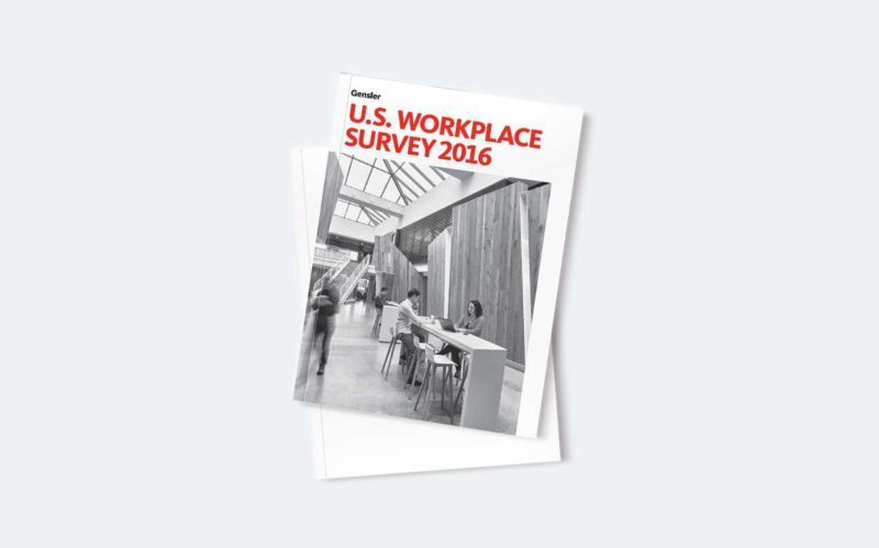Gensler U.S. Workplace Survey 2016