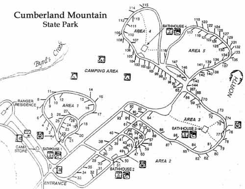 Cumberland Mt SP