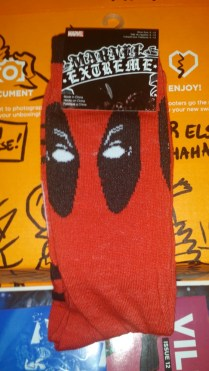 Deadpool Socks