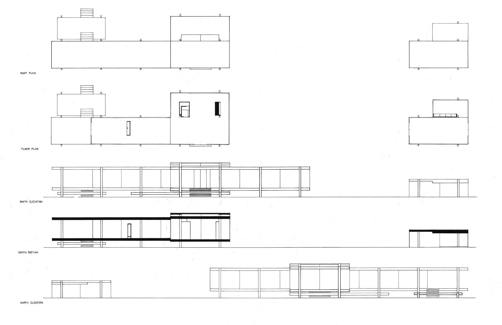 Farnsworth House Addition  Wyatt S Johnson Architecture