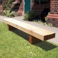 Rustic Wooden Bench | Wybone