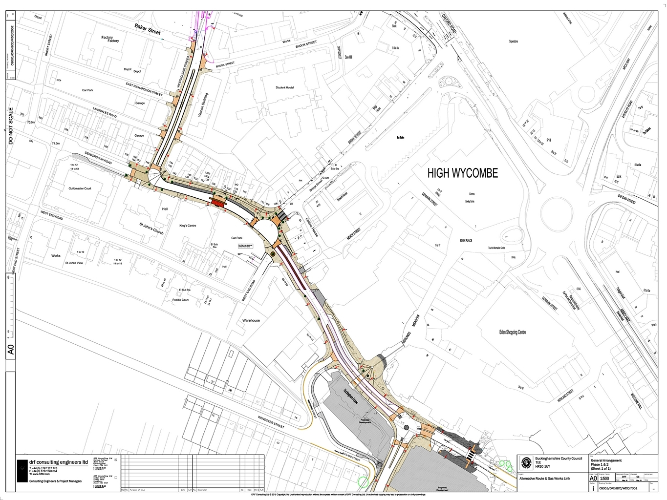 Views Sought As Plans For Phase Two Of The High Wycombe