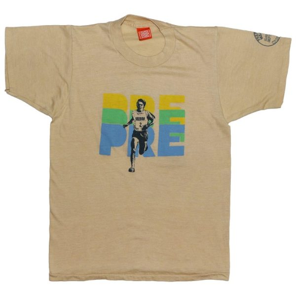 1981 Nike 2nd Steve Prefontaine Memorial Run Shirt Wyco