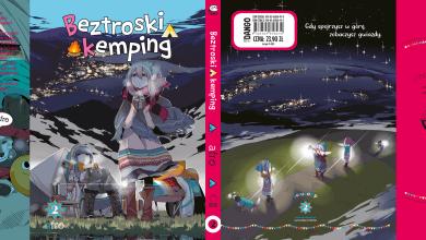 Photo of Beztroski kemping 2 – Okładka i dodatki