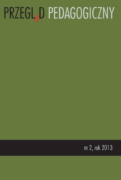 Przegląd Pedagogiczny nr 2/2013