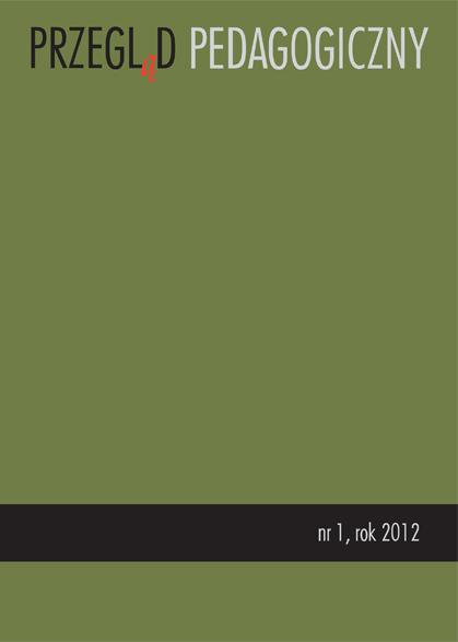 Przegląd Pedagogiczny nr 1/2012, Dziecko w Polsce w XX wieku