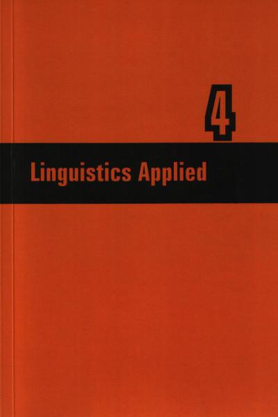 Linguistics Applied nr 4